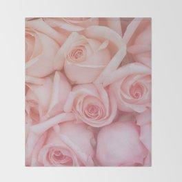 Rose Gradient Throw Blanket