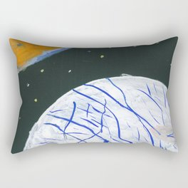 Europa and Io Rectangular Pillow