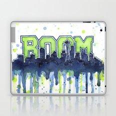 Seattle 12th Man Seahawks Painting Legion of Boom Art Laptop & iPad Skin