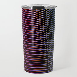 lines and patterns wing light painting Travel Mug