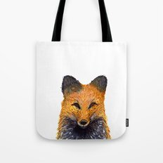 Merry Foxmas! Tote Bag