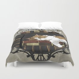 Crookshanks Duvet Cover