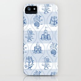 Sandcastle Nautical - Pattern iPhone Case