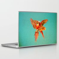 fight Laptop & iPad Skins featuring INFLIGHT FIGHT by Catspaws