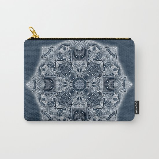 Natural Blueprint Carry-All Pouch