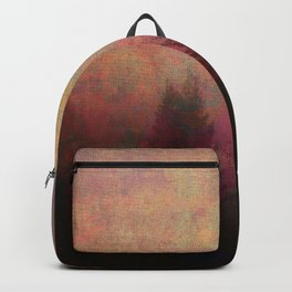 Repose, Abstract Landscape Trees Sky Backpack