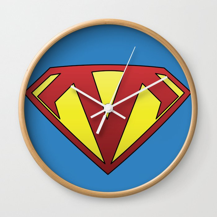 Supermangler Wall Clock