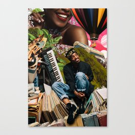 'Andre Opened The Gates' Canvas Print