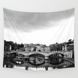 Sant'Angelo Bridge Wall Tapestry
