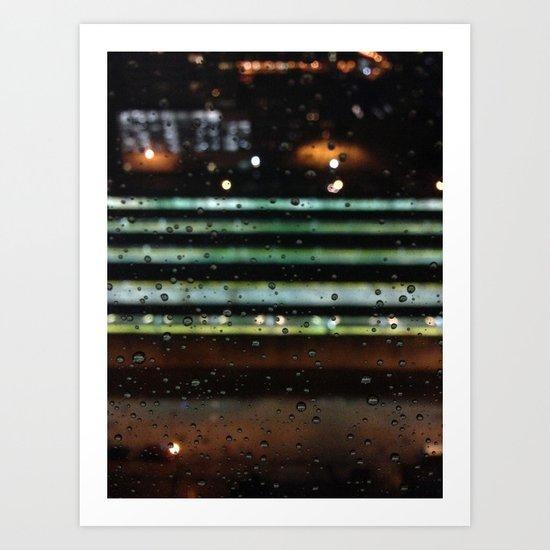 Chicago Rain Art Print