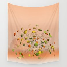 window curtain - candytree -2- Wall Tapestry