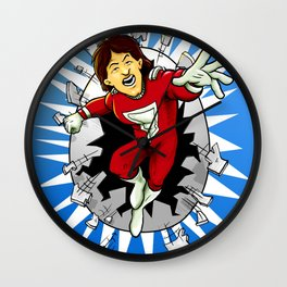 Mork from Ork Wall Clock