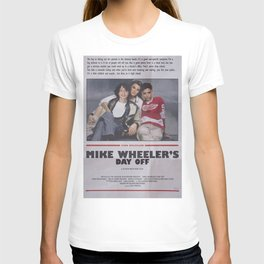 mike's day off T-shirt