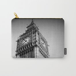 Ben looms in black and white, too. Carry-All Pouch