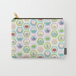 Sewing Quilting Flat Pattern Carry-All Pouch