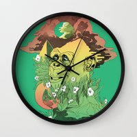 wonder Wall Clocks featuring Wonder by jared stumpenhorst