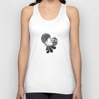 soul Tank Tops featuring soul by Mindy Nguyen Designs