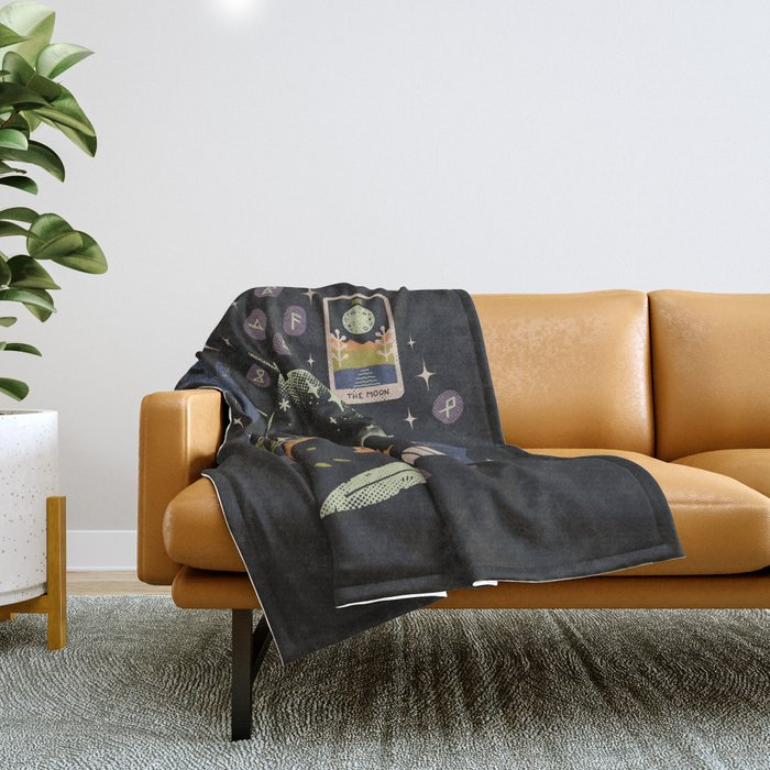 I See Your Future Throw Blanket