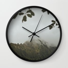 Through The Fog Wall Clock