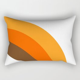 Harvest Rainbow - Right Side Rectangular Pillow