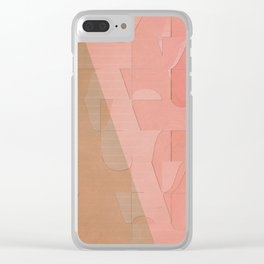 Pattern 2017 003 Clear iPhone Case