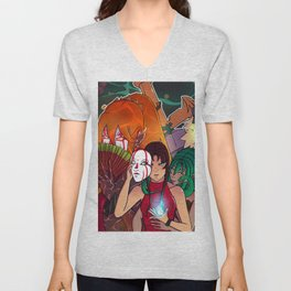 lost souls new cover 2018 Unisex V-Neck