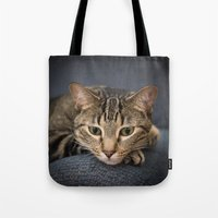 popeye Tote Bags featuring popeye by Photographic Imagery STL