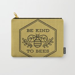 Be Kind To Bees Carry-All Pouch