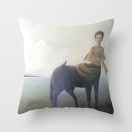 Early morning on Aquaferia II Throw Pillow