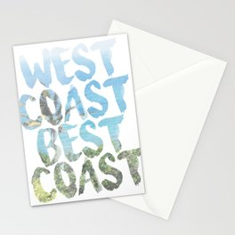 West Coast Best Coast Stationery Cards