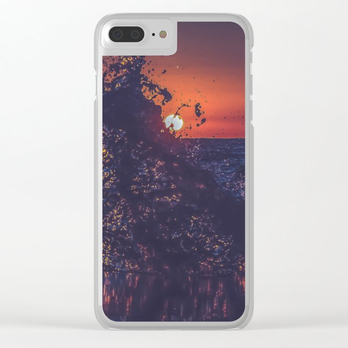 Wash Away Clear iPhone Case