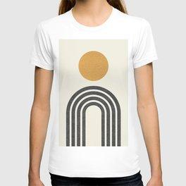 Mid century modern gold T-shirt
