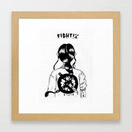 FIGHT-O! 🗡 Framed Art Print