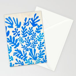 Collage of Leaves, #4- Oceania, by Henri Matisse Stationery Cards