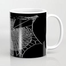 A Large Illustration Of A Spider's Web  Mug