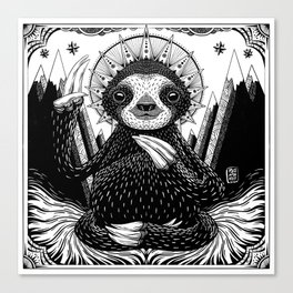 Son of Sloth Canvas Print