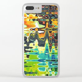 Reflections On Color Clear iPhone Case