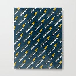 Chewie We're Home Pattern Metal Print