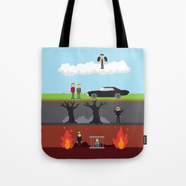 Supernatural - From Heaven and Hell Tote Bag