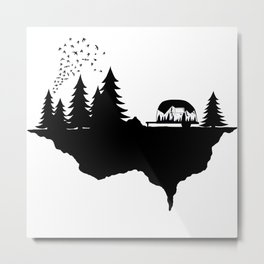 In the wild Metal Print