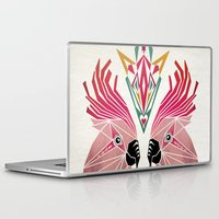 parrot Laptop & iPad Skins featuring parrot by Manoou