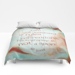 not a sport Comforters