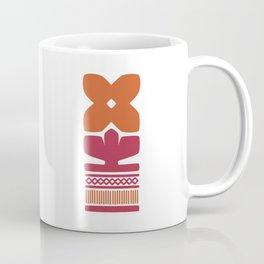 Nordic Orange Flower Coffee Mug