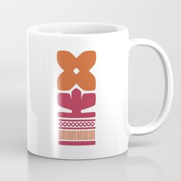 Nordic Orange Flower Coffee Mug