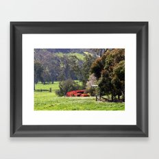 Highlands Homestead Framed Art Print