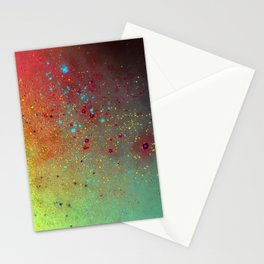 A splash of space Stationery Cards