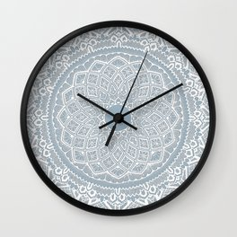 Dedication to Dalton (gray-blue) Wall Clock
