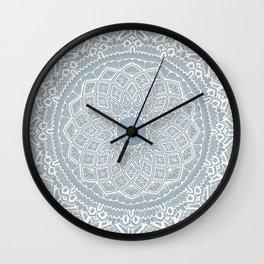 Dedication to Dalton (gray-blue) Wall Clock