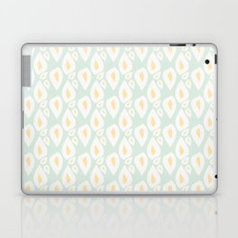 Green Lemony Leaves Laptop & iPad Skin