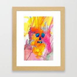 Neonderthal Ink Framed Art Print